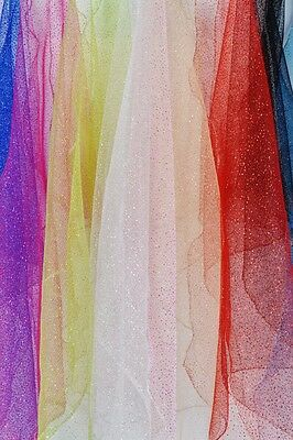glitter sparkly Dress Net tulle fabric tutu wedding favours