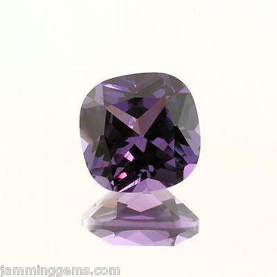 Alexandrite Lab Created Sapphire 10mm Square Cushion Cut