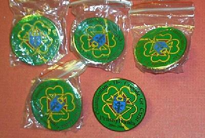 NEW Lot of 5 K of C 2006-2008 PA Columbianism CRUSADE for CHRIST Collector PINS
