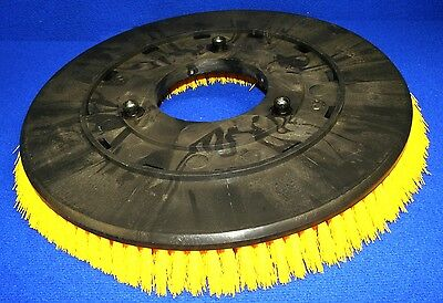 "Set of 2 Tennant 19"" Poly Brush Broom 240250 Scrubber 5200 BA2000 FS2000 SS2001"