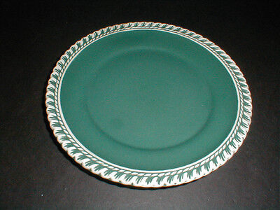 Harker Pottery CHESTERTON Green Luncheon Plate/s (loc-25)