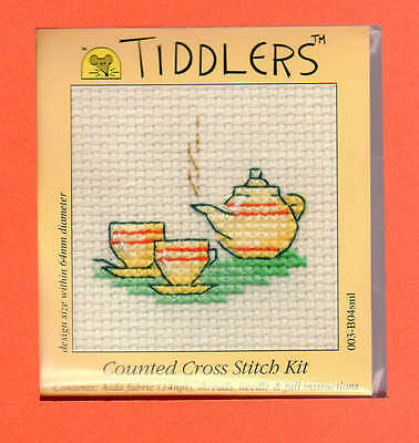 Tiddlers by Mouseloft X Stitch Kit (Tea For Two)