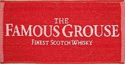 Serviette Bar Famous Grouse Whiskey