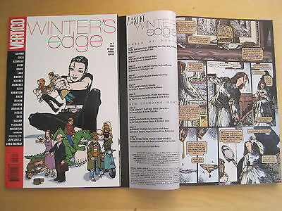 WINTER'S EDGE 80 page SPECIAL, SQR BND ONE-SHOT. GAIMAN,ELLIS,GIBBONS,CASE. 2000