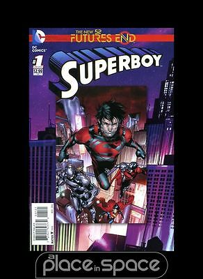 Superboy: Futures End #1B - 2D Cover