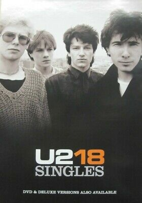 U2 `06 18 singles group promotional poster ~MINT~NEW~!