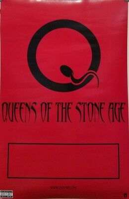 QUEENS OF THE STONE AGE 2002 2 sided promotional poster ~MINT condition~!