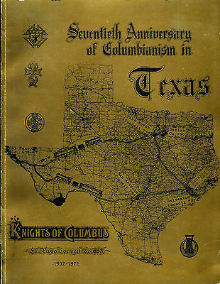 Knights of Columbus El Paso Council 70th anniversary of Columbianism in Texas