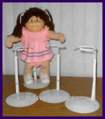 3 KAISER Doll Stands for TRU Cabbage Patch Kids
