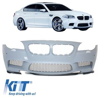 Front bumper BMW F10 / F11 5 Series 11-14 M5 Look Spoiler with PDC / SRA