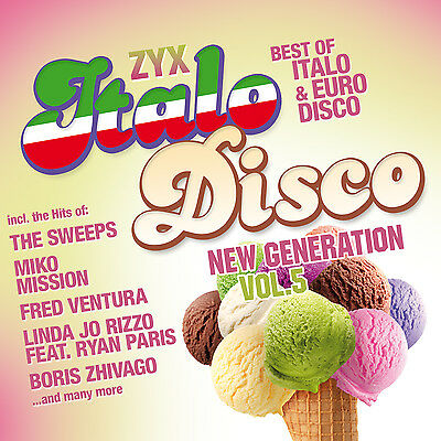 CD ZYX Italo Disco New Generation 5 von Various Artists 2CDs