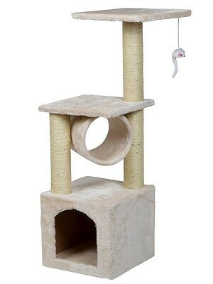 """36"""" Deluxe Cat Tree Level Condo Furniture Scratching Post Kittens Pet Play House"""