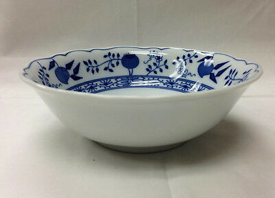 "Hutschenreuther ""blue Onion"" Cereal Bowl 6"" Porcelain New  Germany"
