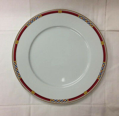 "HUTSCHENREUTHER ""PANTHEON"" DINNER PLATE 10 5/8"" PORCELAIN NEW  GERMANY"