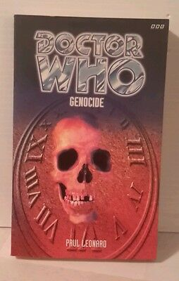 Doctor Who  GENOCIDE  BBC Paperback Book- FREE S&H (M2567)