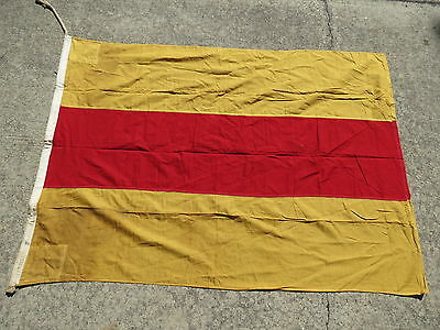 44+ x 61+ WWII SIGNAL N - FLAG 2 4 USA NAVY