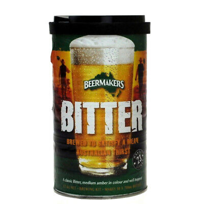 Beermakers Bitter Ale XXX 1.7Kg HB10300 Home Brew Beer Kit Can