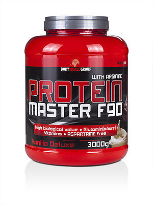 10,97€/kg++ BWG Muscle Line Protein Master F90, 3kg Eiweiss ++