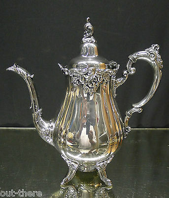 "WALLACE SILVER ""BAROQUE""-TEAPOT POT #-281--SEE ITEMS FROM SAME SET--BUY IT NOW"