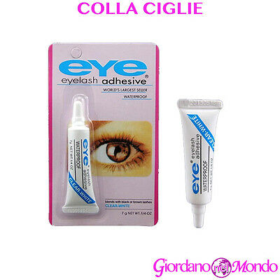 COLLA CIGLIA FINTE TRASPARENTE 7g EXTENSION MAKE UP PROFESSIONALE PER ESTETISTA