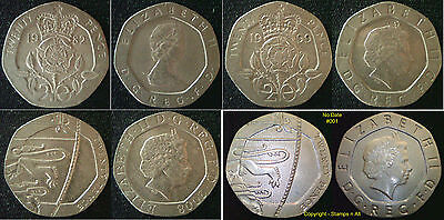 20p 20 Pence Great British Coin Hunt Choose your item Supplied in Coin Wallet