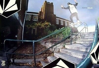VOLCOM 2003 Dustin Dollin skateboard poster!~MINT condition~NEW old stock~!