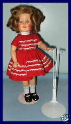 """NEW Kaiser Doll Stand for 1958 IDEAL 12"""" SHIRLEY TEMPLE"""