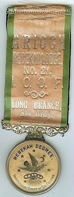 INDEPENDENT ORDER OF ODD FELLOWS , REBEKAH LODGE NO. 21 LONG BRANCH , NEW JERSEY