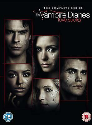 The Vampire Diaries Complete Season Series 1+2+3+4+5+6+7+8 DVD Box Set R4 New