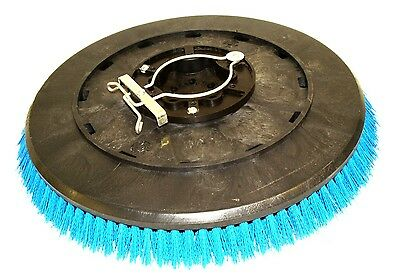 """Set of 2 Tennant 11771 Poly 18"""" Broom Brush Scrubber 490 1490 5680 900D T15 T16"""