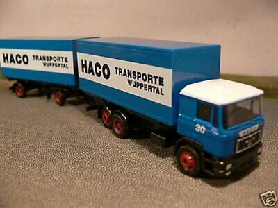 1//87 Herpa MAN F 2000 HACO Wuppertal