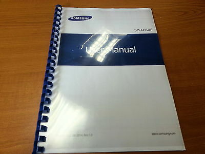 Samsung Galaxy Alpha Sm-G850F Printed Instruction Manual User Guide 226 Pages