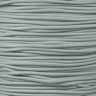 Silver Gray 100' 550 Paracord Mil Spec Type III 7 Strand Parachute Cord 100 ft