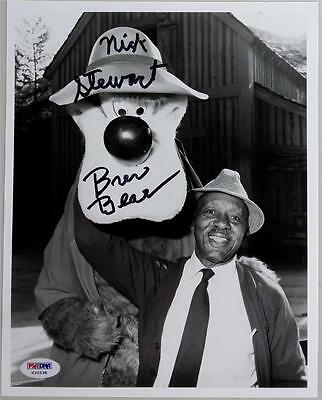 Nick Stewart Signed Brer Bear Disney Song Of The South 8x10 Photo PSA/DNA Auto