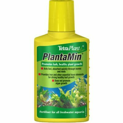 100ml TETRA AQUA PLANTAMIN AQUARIUM LIQUID PLANT FERTILIISER WATER TREATMENT