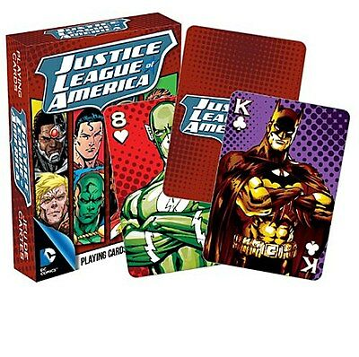 Justice League Of America set of 52 playing cards (nm)