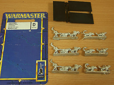 Classic Metal Warmaster Chaos Hounds Unpainted (1412)