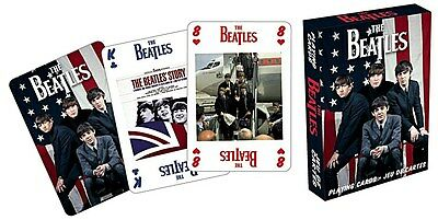 Beatles USA set of 52 playing cards (nm)