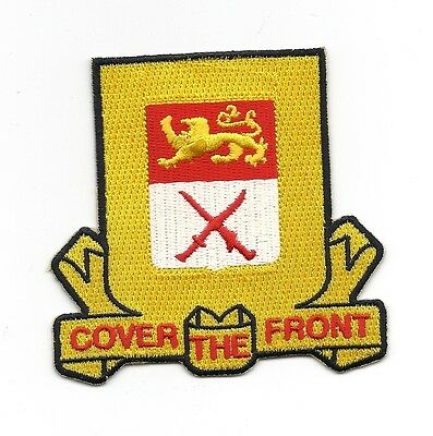 "501st Armored Recon Battalion ""Cover The Front"" patch"