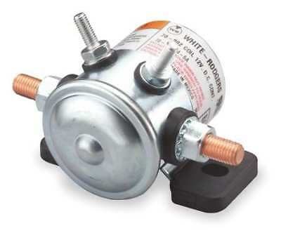 WHITE-RODGERS 70-111224-5 DC Power Solenoid,12V,Amps 80