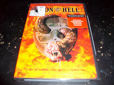 JASON GOES TO HELL!!! BRAND NEW & FACTORY SEALED!!!! FRIDAY THE 13TH!!!!!