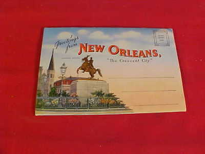 Vintage Fold Out Post Cards from New Orleans