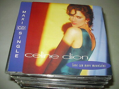 CELINE DION - LOVE CAN MOVE MOUNTAINS raro CD singolo Canada !! PR0MO
