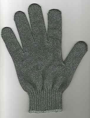 Stainless Steel Mesh FILLETING GLOVE. Protects hands from blades and gnashers.