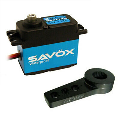 Savox SW-1210SG Waterproof Coreless Digital Servo W/FREE ALUMINUM HORN HA
