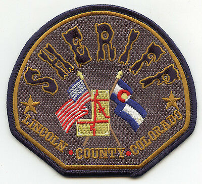 Lincoln County Colorado Co Sheriff Police Patch