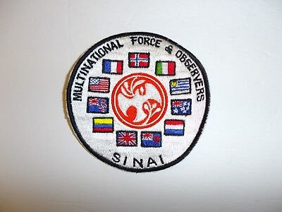 b1504 Multinational Force & Observers Sinai patch