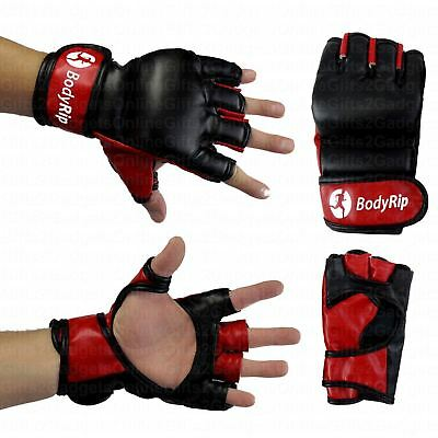 New Leather Boxing Mma Fight Gloves Punch Bag Muay Thai Punching