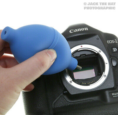 Precision Rocket Air Blower for Camera Sensor Cleaning. Safe DSLR Dust Remover