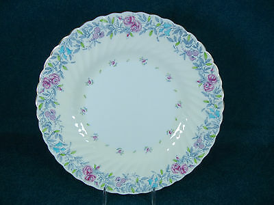 "Minton Printemps Pattern S370 Round 9 1/8"" Luncheon Plate(s)"